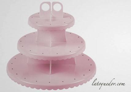 Présentoir à cake pops et cupcakes