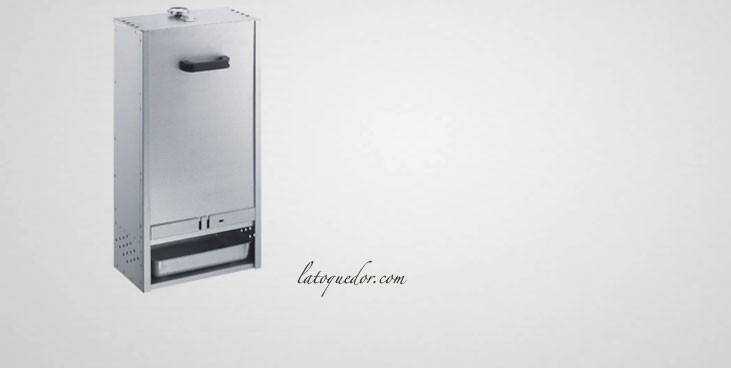 Fumoir professionnel acier aluminisé 75x39 cm
