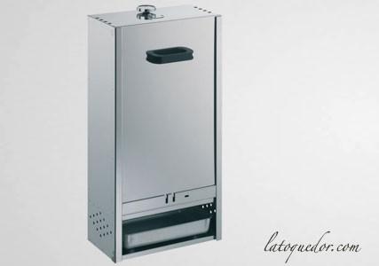 Fumoir professionnel inox 75x39 cm