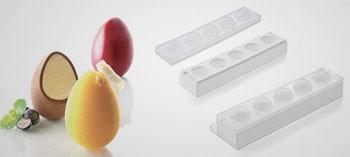 Moule œuf 3D professionnel Silikomart