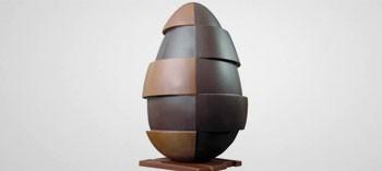 Moule chocolat œuf design N°4