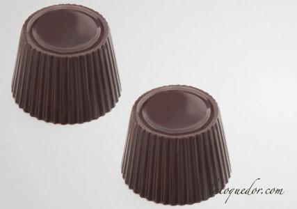 Moule à chocolat polycarbonate 21 pralines