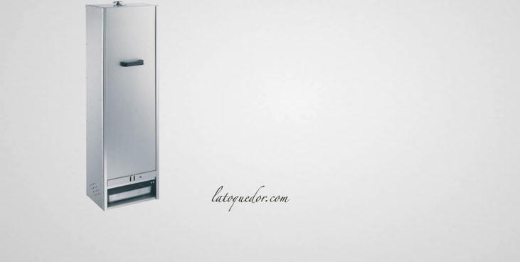 Fumoir professionnel acier aluminisé 125x39 cm