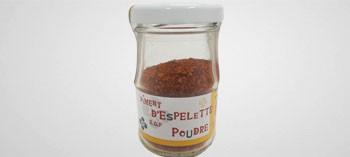 Piment d'Espelette en poudre 40 g