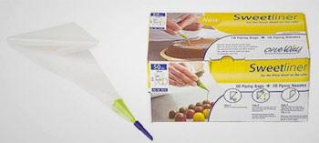 Cornets à décor et à écriture avec douilles (x50)