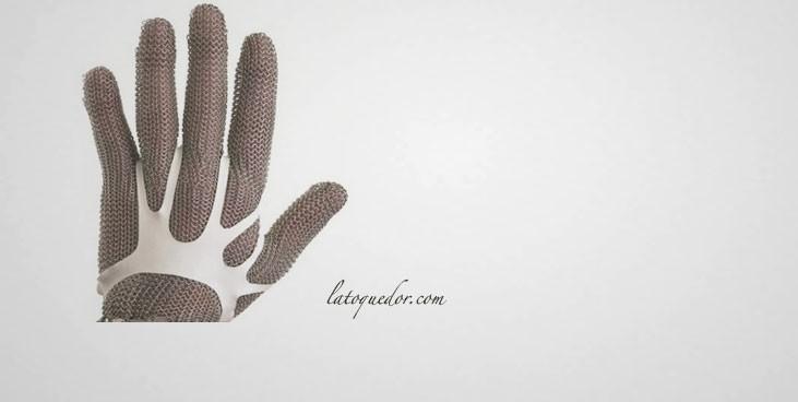 Fixe gants pour gant côte de maille (x100)