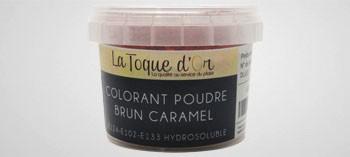 Colorant poudre brun caramel hydrosoluble