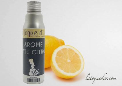 Arôme essence zeste de citron 125 ml