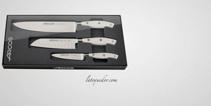 Coffret couteaux de cuisine Riviera Arcos