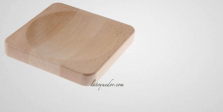 Planche à découper bois pour berceuse