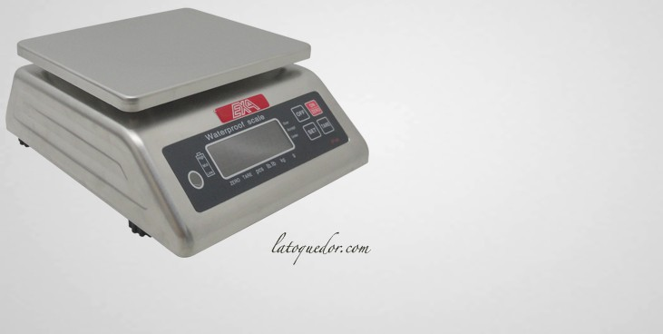 Balance inox professionnelle EXA - 6 Kg / 1g