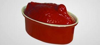 Terrine à pâté en fonte forme canard