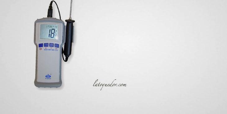 Thermomètre à sonde professionnel HACCP -50/+300°C