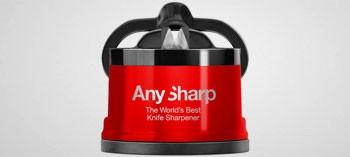 Aiguiseur à couteaux Anysharp Pro - Rouge