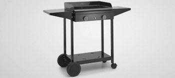 Chariot acier ouvert pour plancha Origin Forge Adour