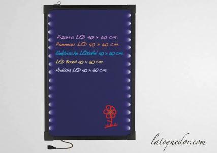 Tableau lumineux à LED