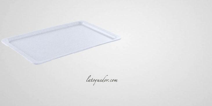 Plateau de service rectangulaire Poligran