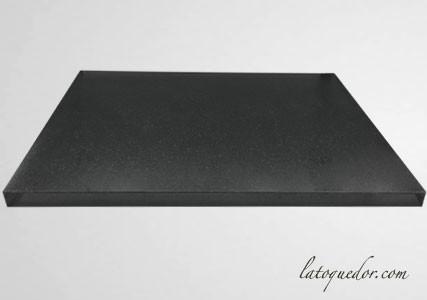 Marbre à pâtisser professionnel en granit noir