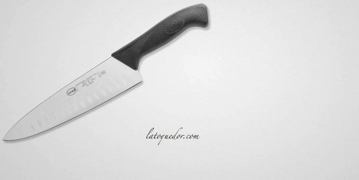 Couteau de cuisine alvéolé Skin - Sanelli
