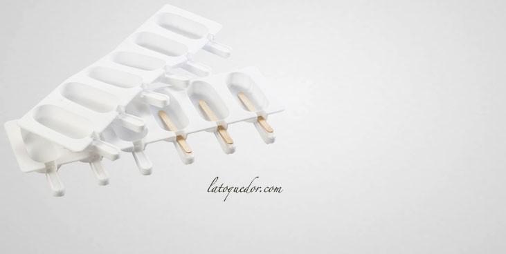 Moule à glace en silicone forme esquimaux