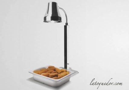 Lampe chauffante inox simple Luxe