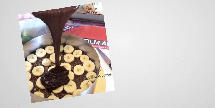 La tarte crue au chocolat