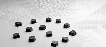 Feuilles relief pour décors chocolat (x13)