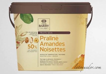 Praliné Favorites amandes noisettes Cacao Barry