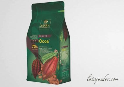 Chocolat de couverture noir Ocoa 70% Cacao Barry