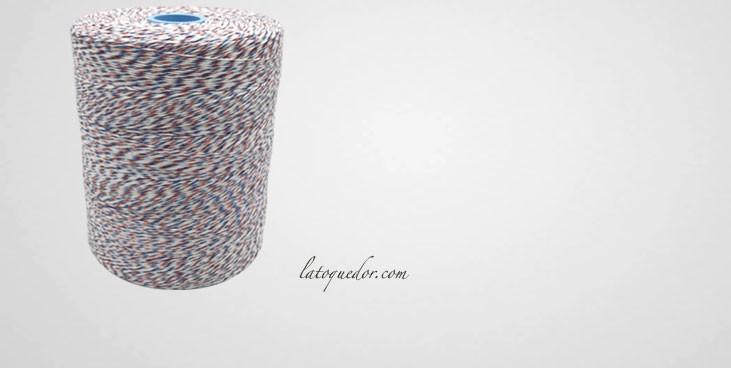 Ficelle de boucher 1Kg bleu blanc rouge 3B - Spéciale rôtis