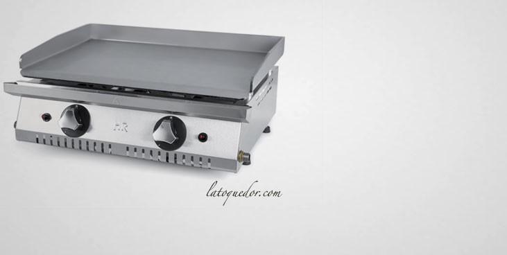 Plancha gaz acier rectifié ECON 600 - Fainca HR