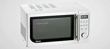 Four micro-ondes 25L avec grill et air chaud 900W - Bartscher
