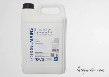Savon nettoyant mains anti-microbien inodore 5L