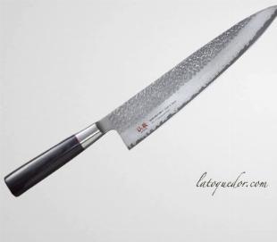 Couteau de chef japonais damassé Senzo Classic - Suncraft