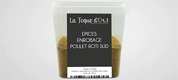 Epices enrobage roti sud
