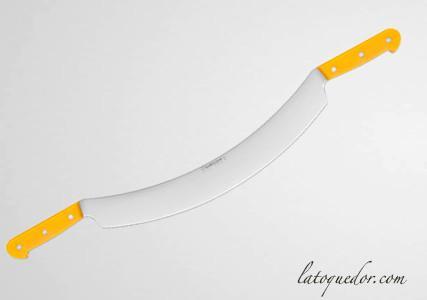 Couteau à fromage professionnel 2 manches lame courbée - Fischer