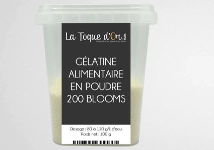 Gélatine alimentaire 180 Blooms 1Kg