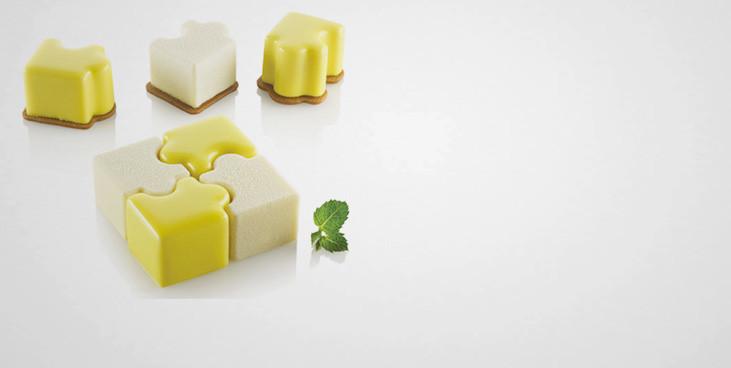 Moule silicone 16 puzzles Silikomart