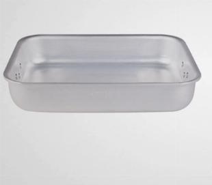 Plat à rotir professionnel aluminium extra lourd - Pentole Agnelli