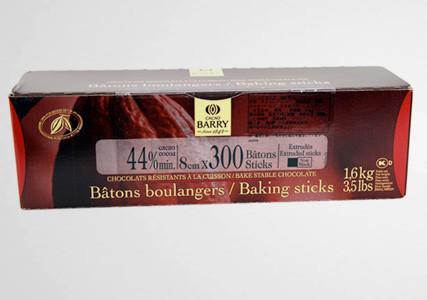 Bâtons de chocolat noir pour pains au chocolat Cacao Barry