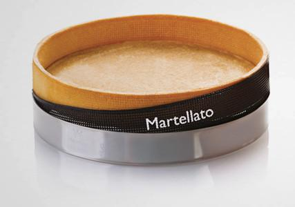 Bande silicone perforée pour cercle à tarte H35 mm (x10)