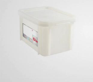 Bac de stockage gerbable renforcé avec couvercle - Gilac