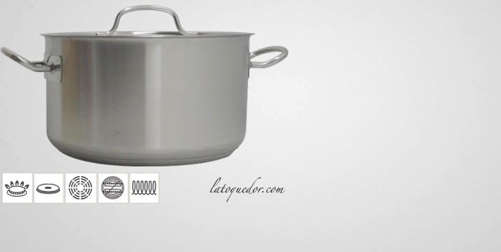 Braisière inox Chef Classic avec couvercle