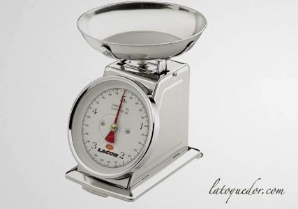 Balance de cuisine mécanique plateau creux 5Kg