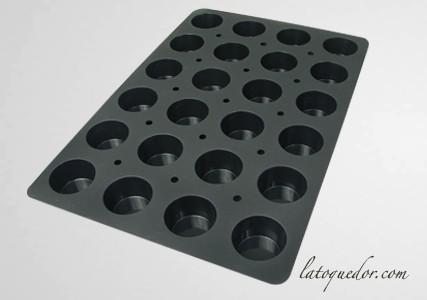 Moule silicone professionnel muffin