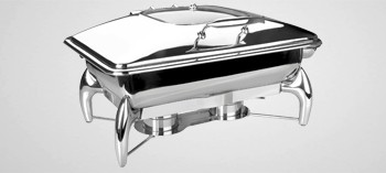 Chafing dish professionnel Luxe GN 1/1