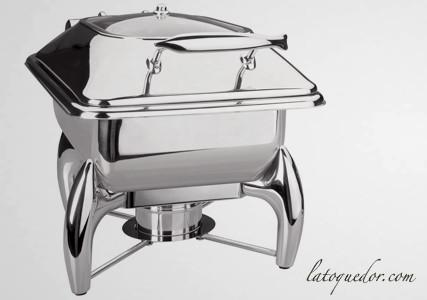 Chafing dish professionnel Luxe GN 1/2
