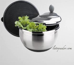 Essoreuse à salade inox 4,5L