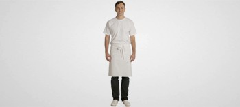 Tablier de Chef blanc 65 cm
