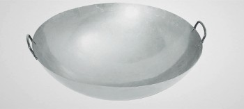 Wok acier à poignets 70 cm